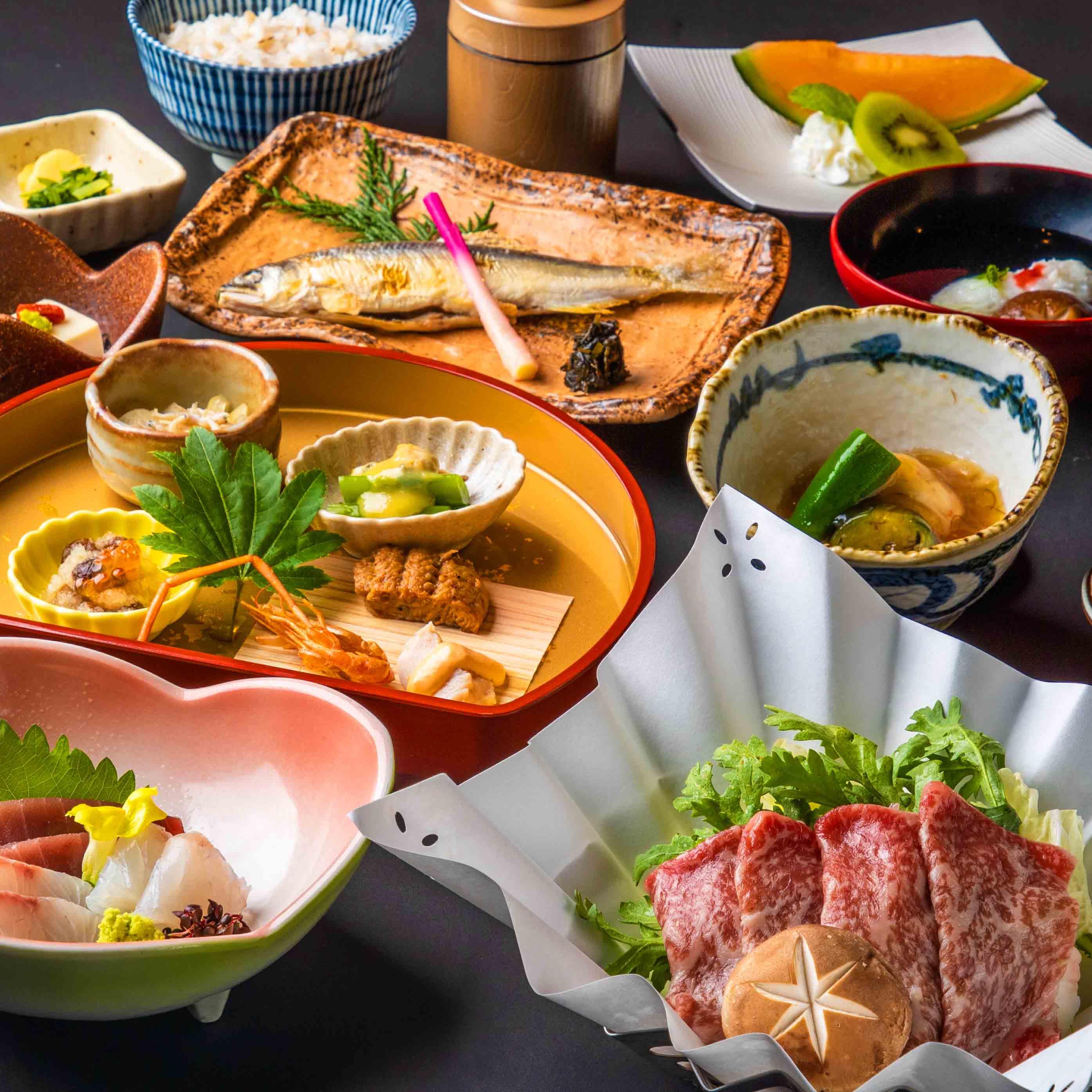 [お料理のみ] ≪個室確約≫ 海鮮小鍋会席10品