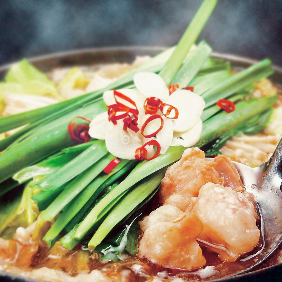 [お料理のみ] 炭火串焼×選べるもつ鍋コース9品