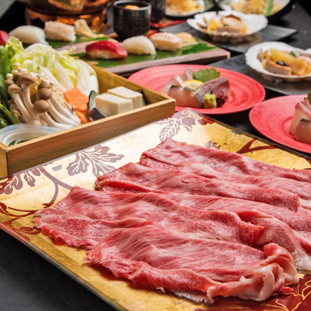 [お料理のみ] 『近江牛』懐石  8品