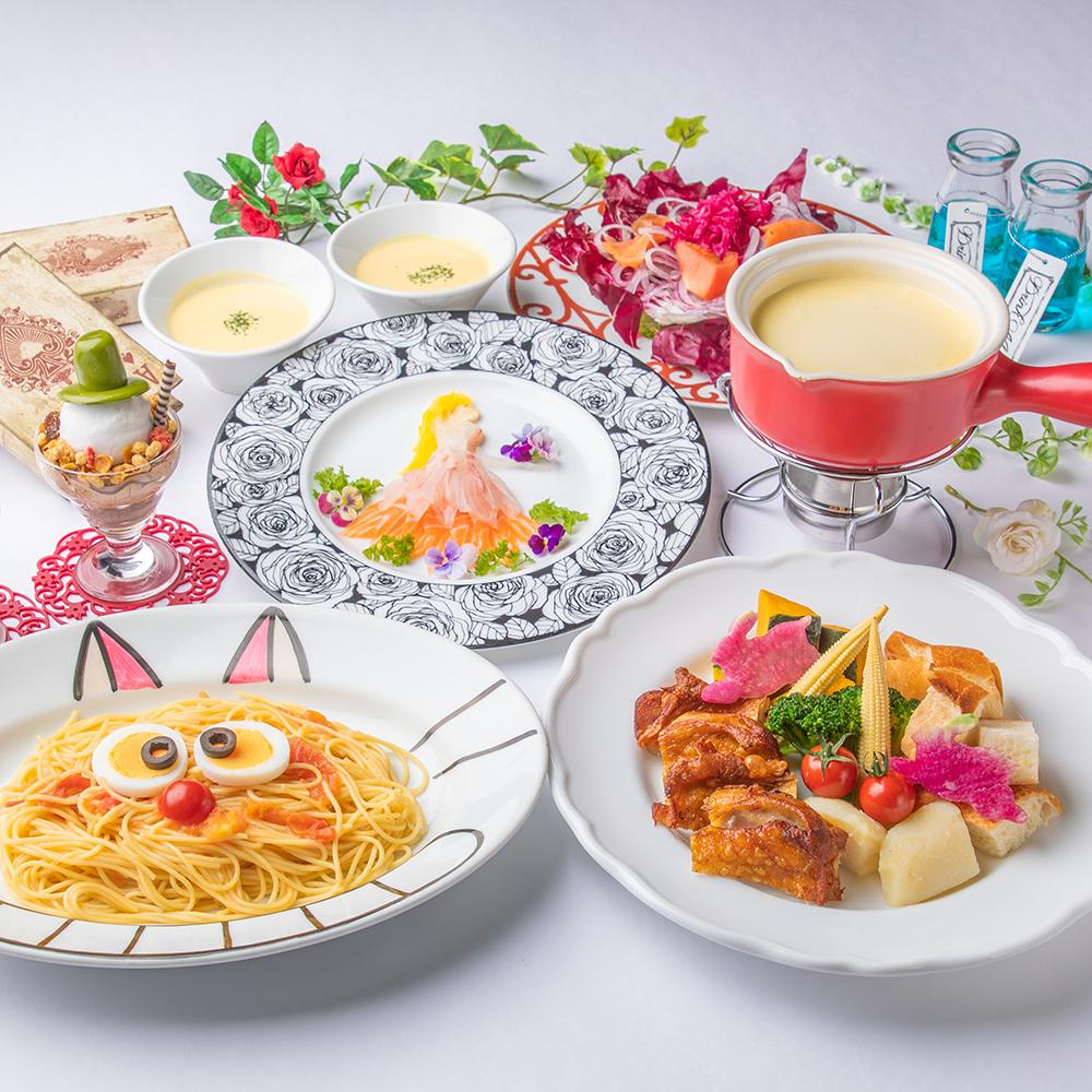[2時間飲み放題] 女王様お気に入り☆チーズフォンデュコース7品