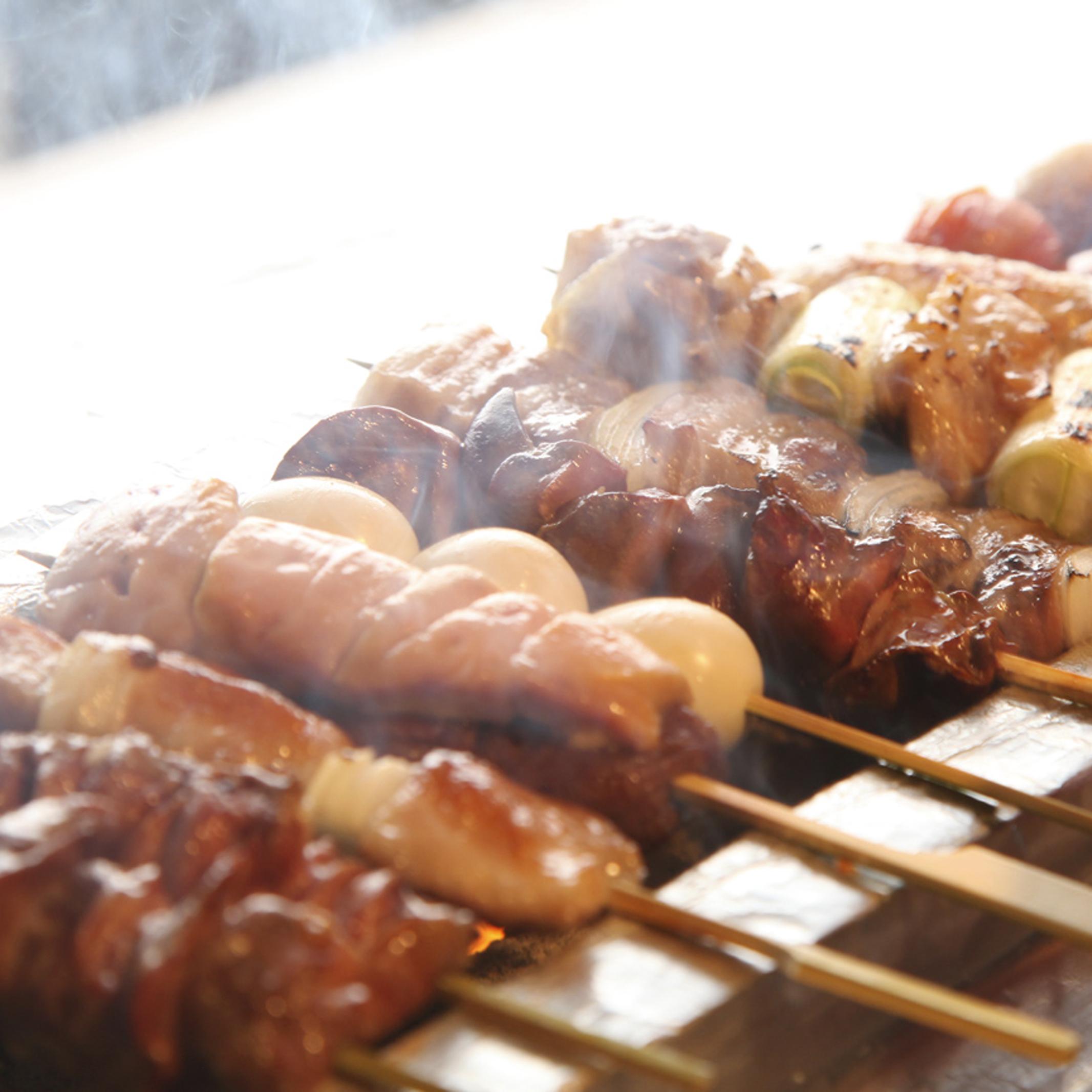 [お料理のみ] 【お食事に】自慢の炭火焼き鳥と濃厚白濁水炊きなど9品