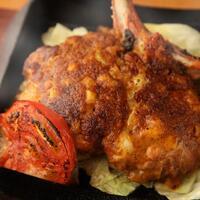 筑波鶏もも肉一枚スパイシー焼きと炭火焼き鳥など