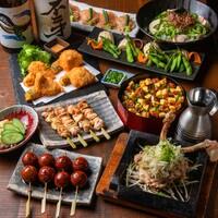 【お食事に】筑波鶏もも肉一枚スパイシー焼きと炭火焼き鳥など