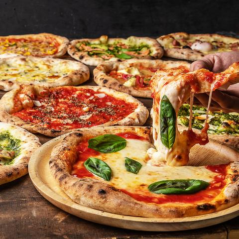 [2時間飲み放題2時間] 組数限定!選べるpizza×特製唐揚げ!6品