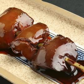 比内地鶏の焼き鳥【白レバー串】