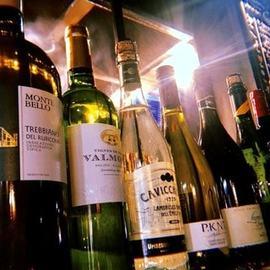 12種以上のワイン等をご用意してお待ちしております。