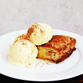 ホットアップルパイ&バニラアイス