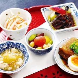 野菜を中心に京都の家庭料理おばんざい