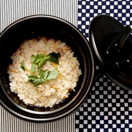 炊きたて羽釜ご飯*40分ほどお時間かかります。