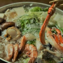 海鮮鍋しゃぶ
