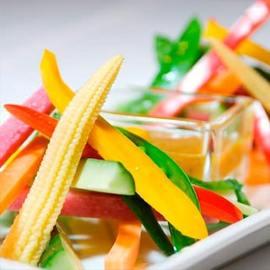 旬の彩り野菜 バーニャカウダ