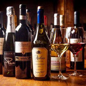 200種類以上のワインをカジュアルに楽しむ