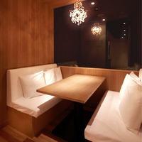 完全個室のテーブル席