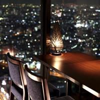 夜景の見える席