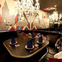 魔法の鏡のドレスルーム アップフロア