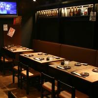 【B1F】テーブル席